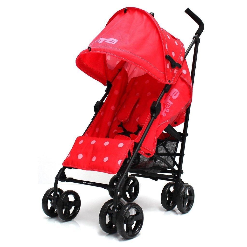 Zeta Vooom Stroller (Red) ZE007