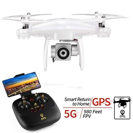 MaanZys Drone con cámara GPS Profesional Posicionamiento ...