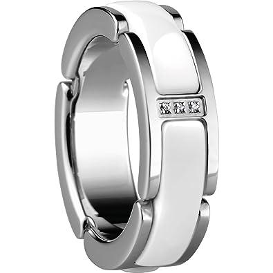 Bering Women Stainless Steel White Zircon nyFp0RT