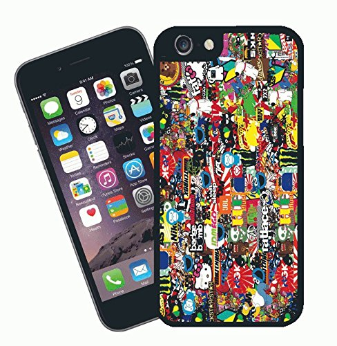 Stickerbomb 03 - This cover will fit Apple model iPhone 7 (not 7 plus) - By Eclipse Gift Ideas