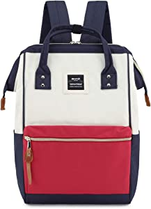 Himawari Travel School Backpack with USB Charging Port 15.6 Inch Doctor Work Bag for Women&Men College Students(900D-USB-PH)
