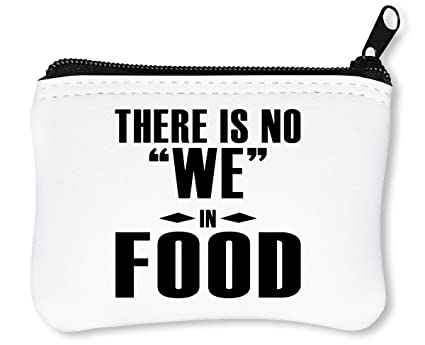 There Is No We In Food Billetera con Cremallera Monedero ...