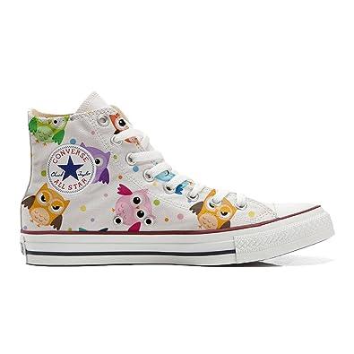 Converse All Star personalisierte Schuhe (Handwerk Produkt)Tiny Owls