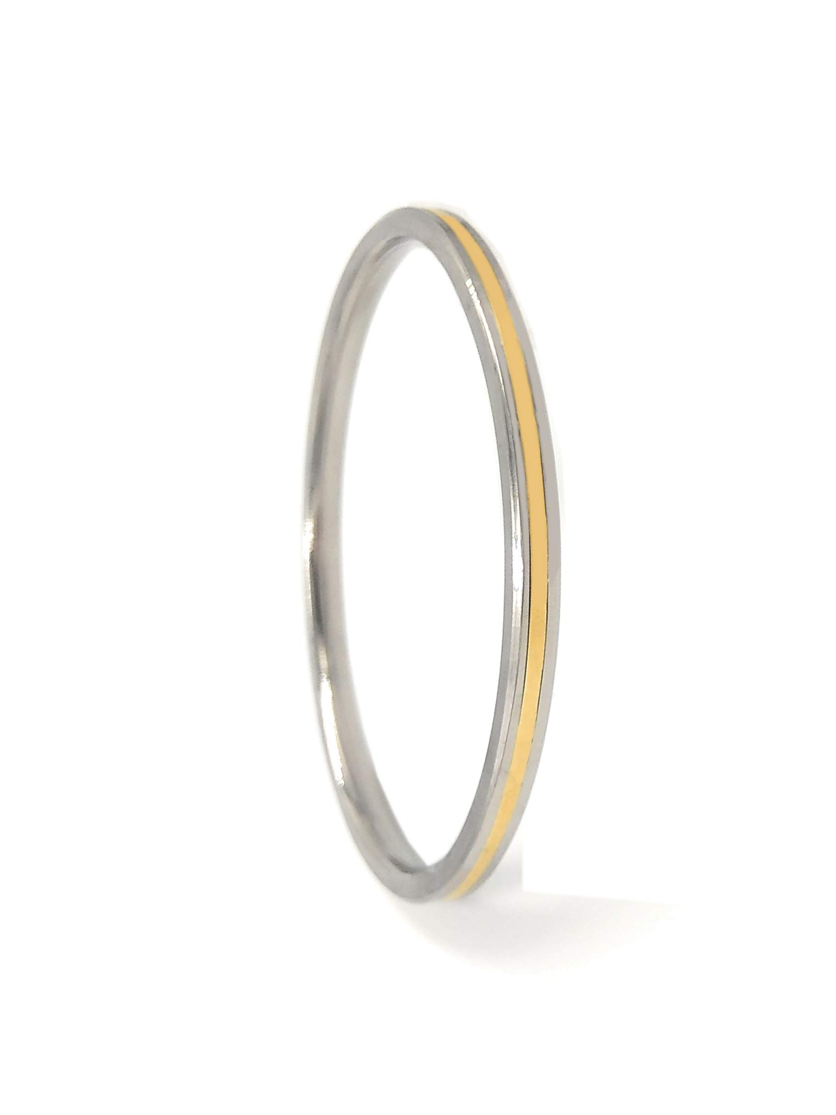 """Shinde Exports Stainless Steel SS thin punjabi Kada 0.2"""" thickness for men and women product image"""