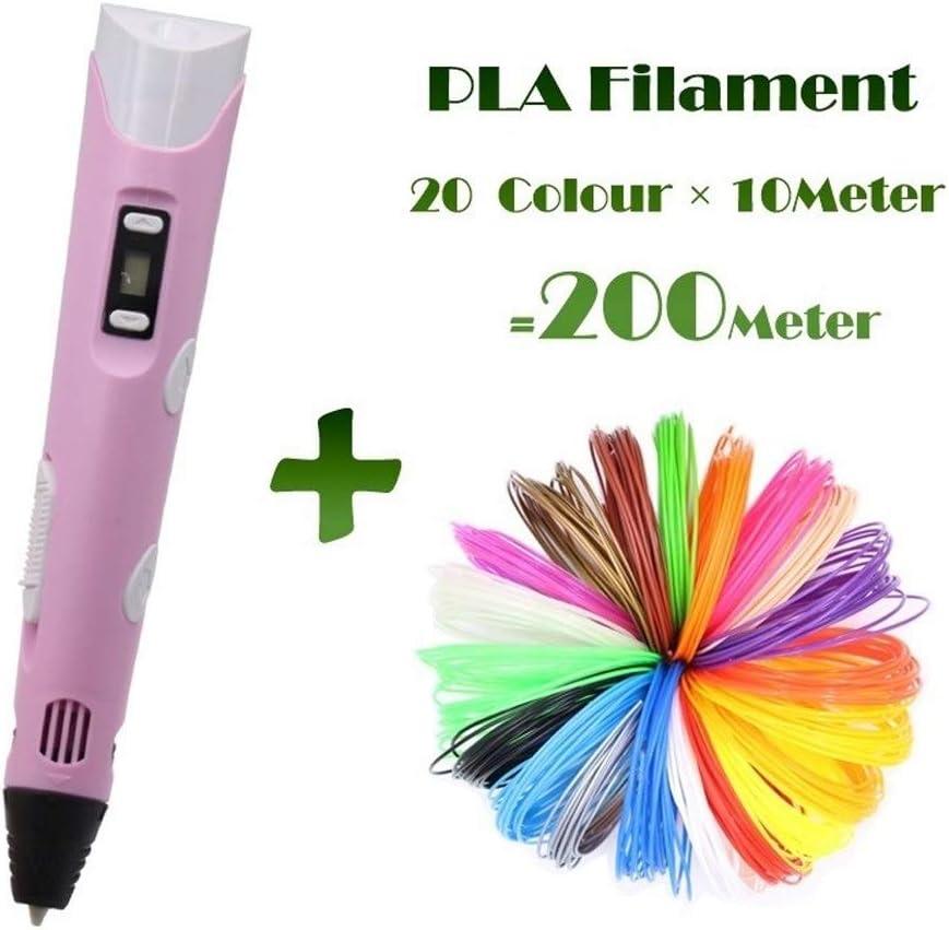 MDYHHX 3D Pluma de la impresión 3D Pluma con Pantalla LCD y Modelo ...