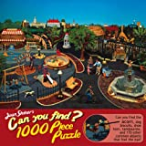 Joan Steiner's Can You Find Amusement Park 1000 Piece Jigsaw Puzzle