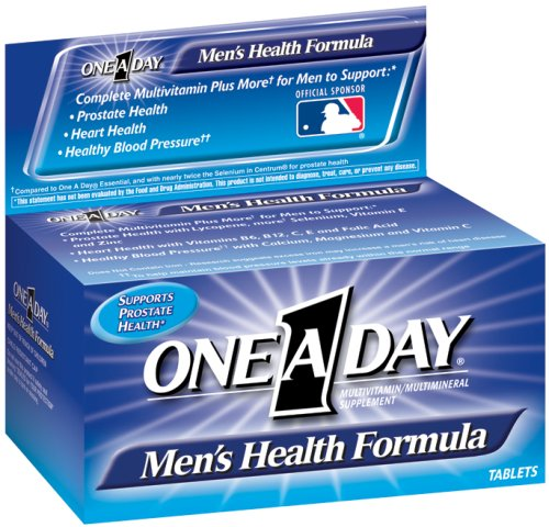 One-A-Day Men's Multivitamin Dietary Supplement, 100-Count Bottles (Pack of 2)