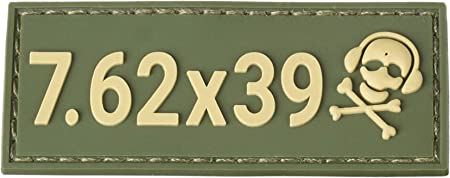 40 s/&w G-CODE Caliber Patch TAN on OD Green