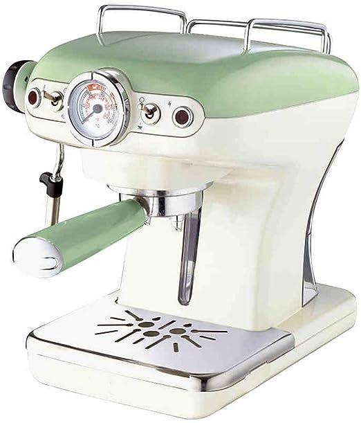 LTLWSH Cafetera Espresso, Diseño Retro, 900 W de Potencia Presión ...