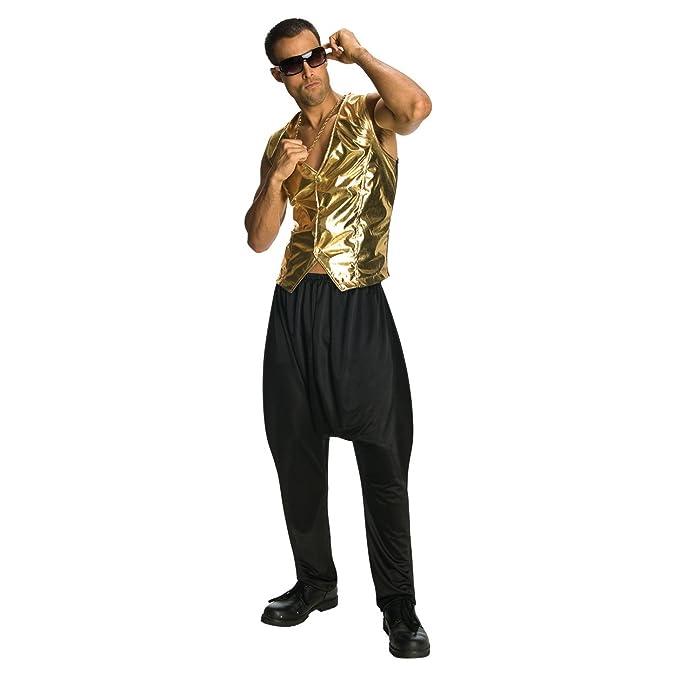 classic sale online exceptional range of styles Black MC Hammer Pants Parachute Vanilla Ice 90's 80's Rap Hip Hop Mens  Costume