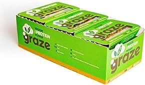 Graze Veggie Vegan Protein Power 28g (Pack of 9)