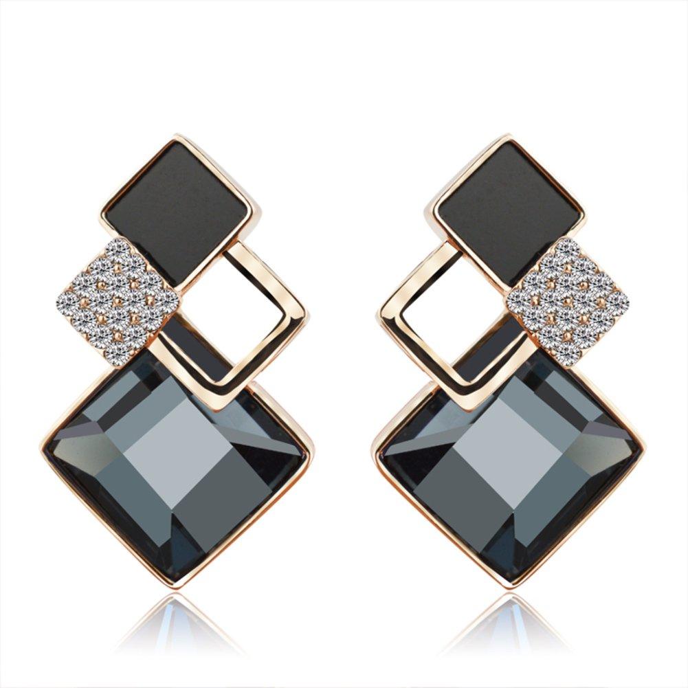 Lady sweet earrings Personalized diamond earrings fashion simple Stud Earrings JSDHASBHSAY 6g5bx-B