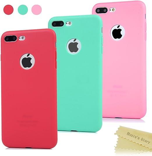 3x Funda iPhone 7 Plus, Carcasa Silicona Gel - Maviss Diary Mate ...