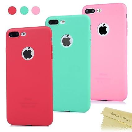 carcasas iphone 7 plus silicona