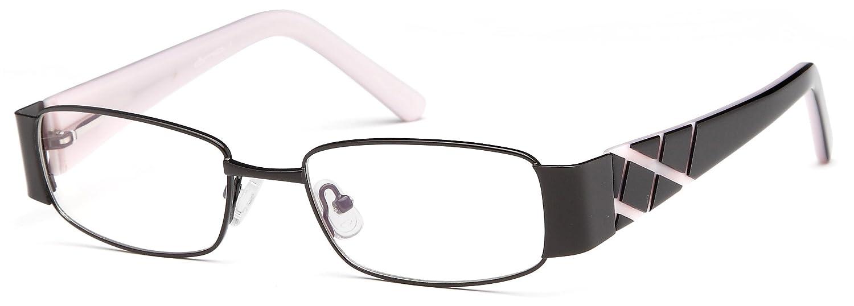 fd437325b57 Amazon.com  Womens Rectangular Glasses Frames Brown Prescription Eyeglasses  Rxable 49-17-135  Clothing