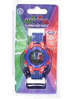 Disney PJ Masks Flashing LCD Watch - colors as shown, one size