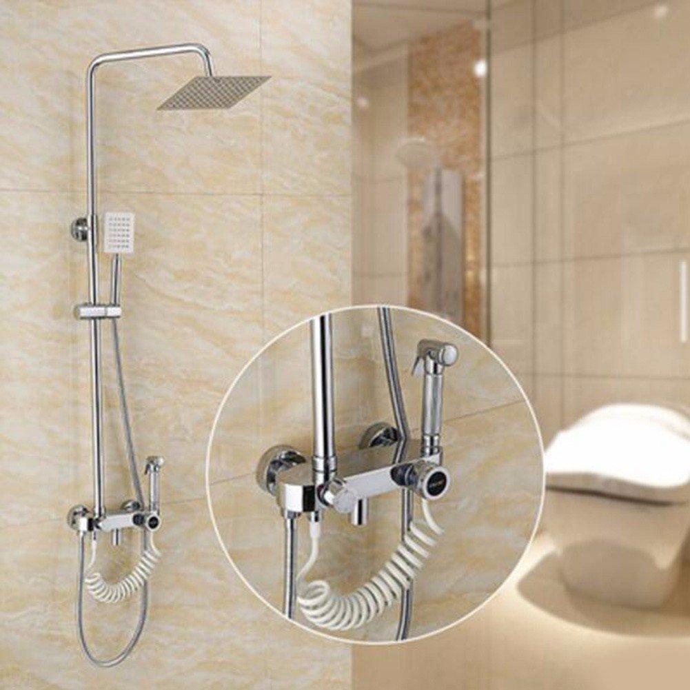 SJQKA Shower Head Shower Bath Set, Women Washing Device, Copper Faucet Shower by SJQKA