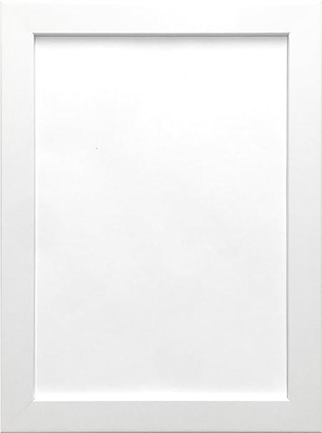 18X24 WHITE COLOUR MODERN BOX FRAMES WOOD FINISH PHOTO PICTURE ...