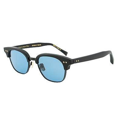 055457c17a9f Image Unavailable. Image not available for. Colour  DITA Statesman Two Men  DRX-2051 Black   Blue Lenses Titanium Japan Sunglasses 50mm
