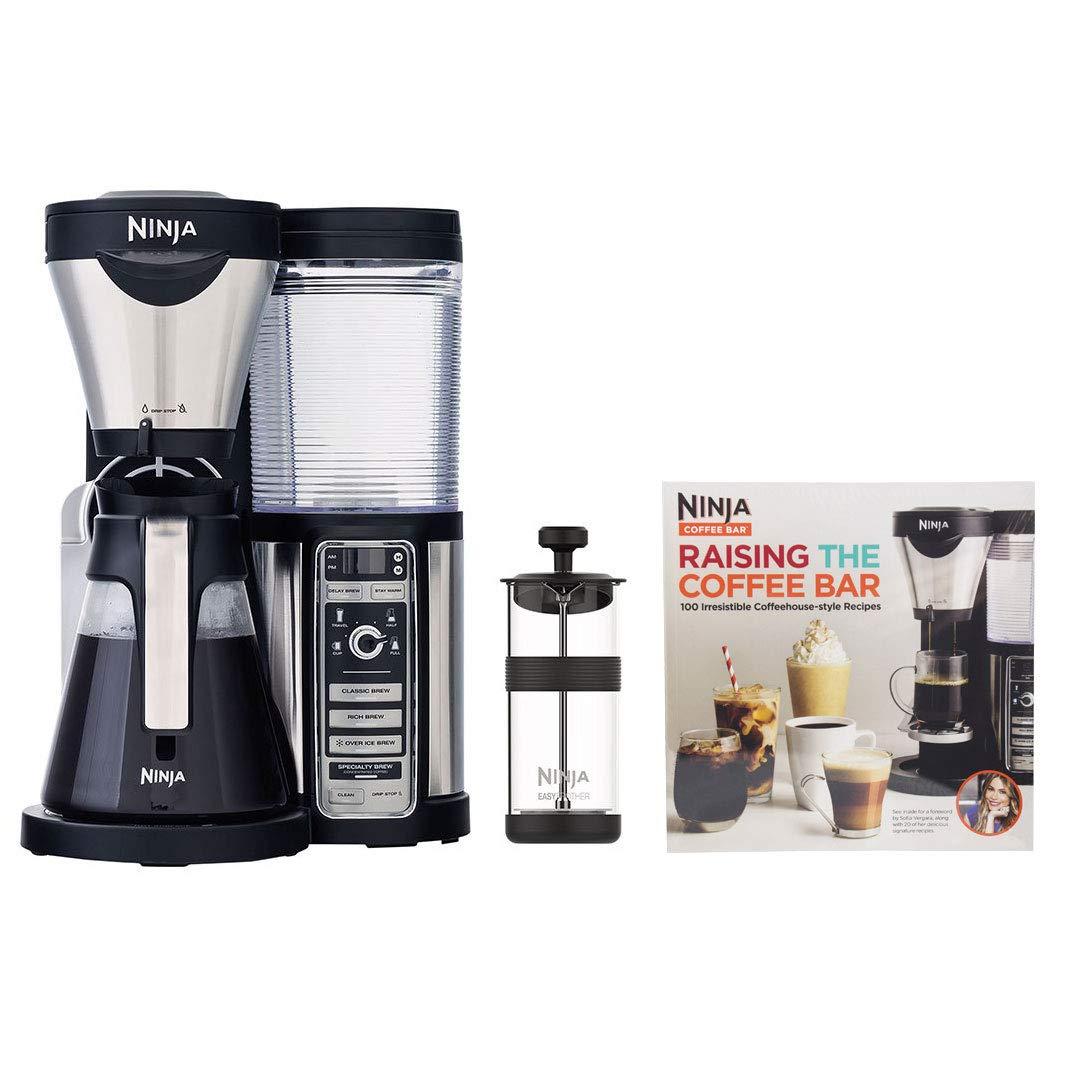 Amazon.com: Ninja Coffee Bar Machine Maker with 43 oz Glass ...