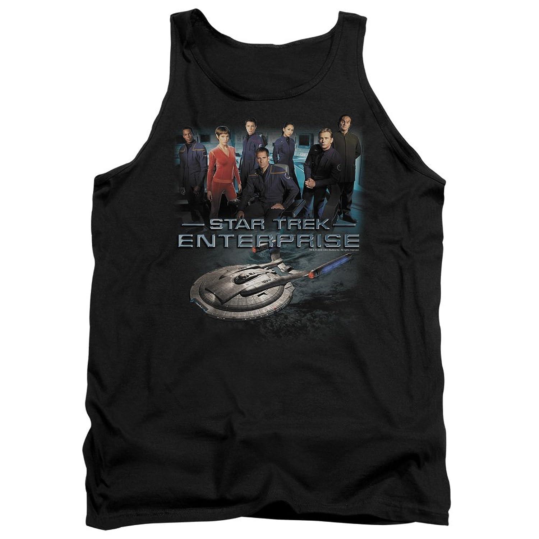 Star Trek Next Generation Enterprise TV Series Crew Adult Tank Top Shirt