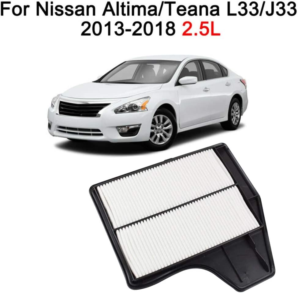SY-Air Filters Car Engine Air Filter For Nissan Altima L33 2013-2018 4CYL 2.5L 165463TA0A Designed Wear Resistance