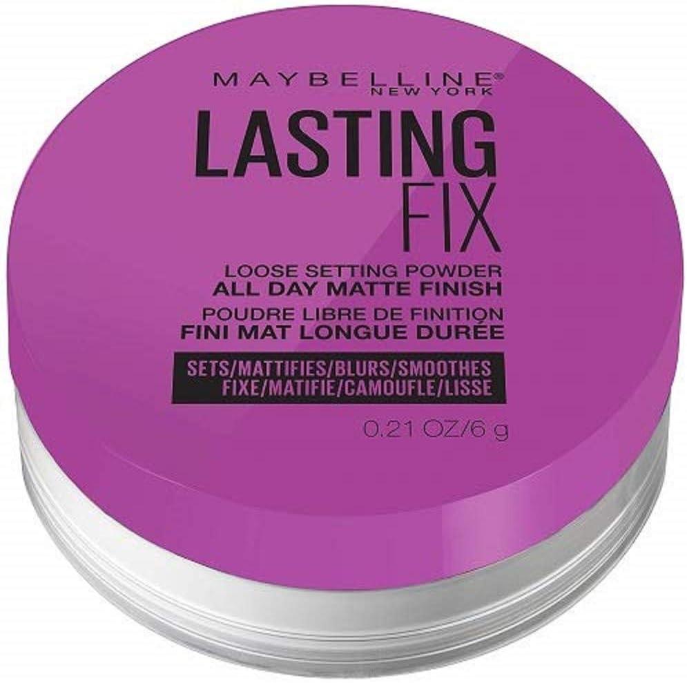 Lasting Fix de Maybelline New York - Polvos fijadores traslúcidos