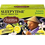 Celestial Seasonings Green Tea, Sleepytime Decaf Lemon Jasmine, 20 Count (Pack of 6) Review