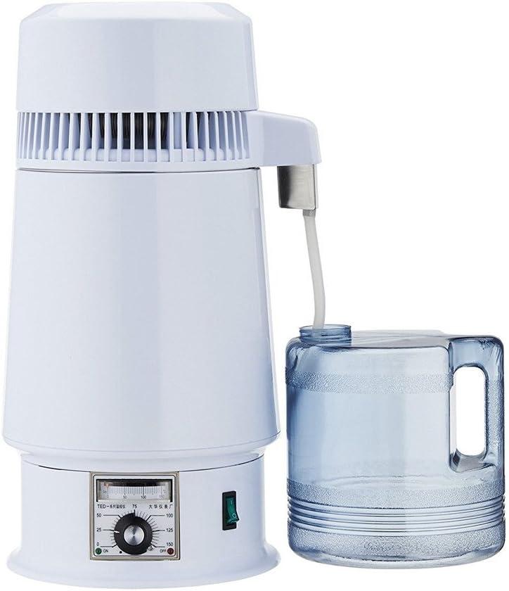 750W Electrical 4 Liter/1 Gallon Home Wine Distiller Moonshine Still Alcohol Distillation Brewing Kit Water Purification