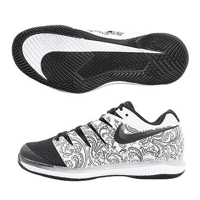 super popular a82e4 2f04b Nike Air Zoom Vapor X HC, Chaussures de Tennis Homme, Blanc (White