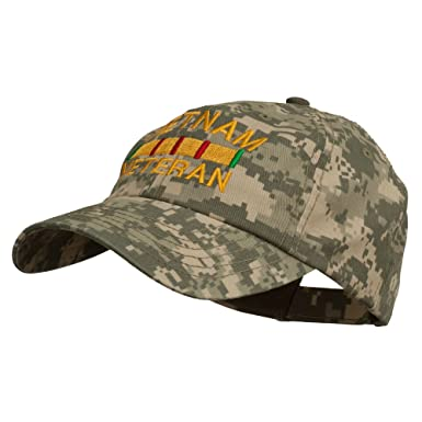 2d80161436c Vietnam Veteran Embroidered Enzyme Washed Cap - Digital Camo OSFM at ...