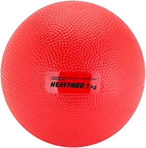 Gymnic Heavymed – Balón Medicinal Bola, Unisex, Heavymed, Rojo, 1 ...