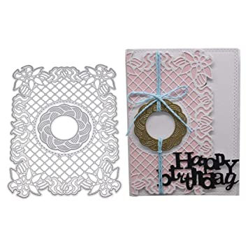 Quaan Neu Blume Herz Metall Schnitt Stirb Vorlage DIY Collage Album ...