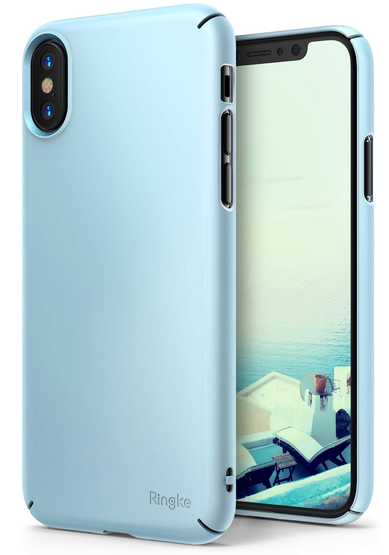 Amazon.com: Ringke Slim x Slot for Apple iPhone X Negro ...
