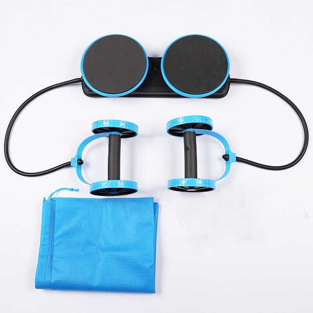 SYT Fitness Gesundheit Bauchmuskel Twist Rad Taille Trainer Arm Taille Bein Übung Multifunktionale Fitnessgeräte Übung, Blau