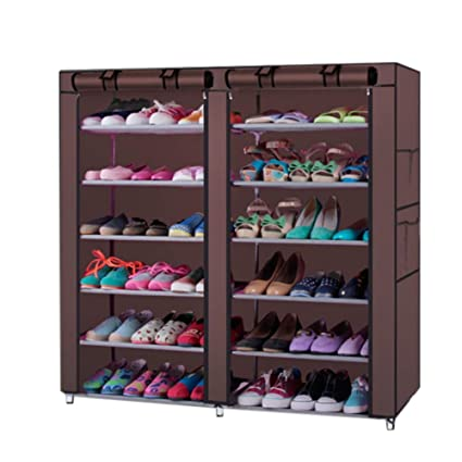 Shoe Cabinet Non-woven Shoes Racks Storage Large Capacity Home Furniture Diy Simple 5 Layers Free Shipping Home Furniture