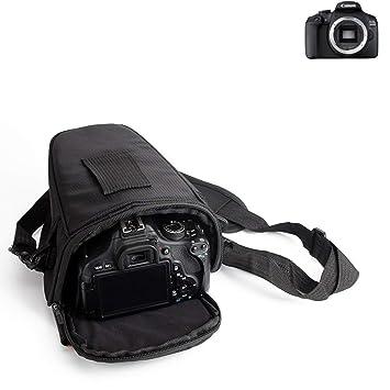 K-S-Trade para Canon EOS 2000D: Bolsa per Camera DSLR/SLR/DSLM ...