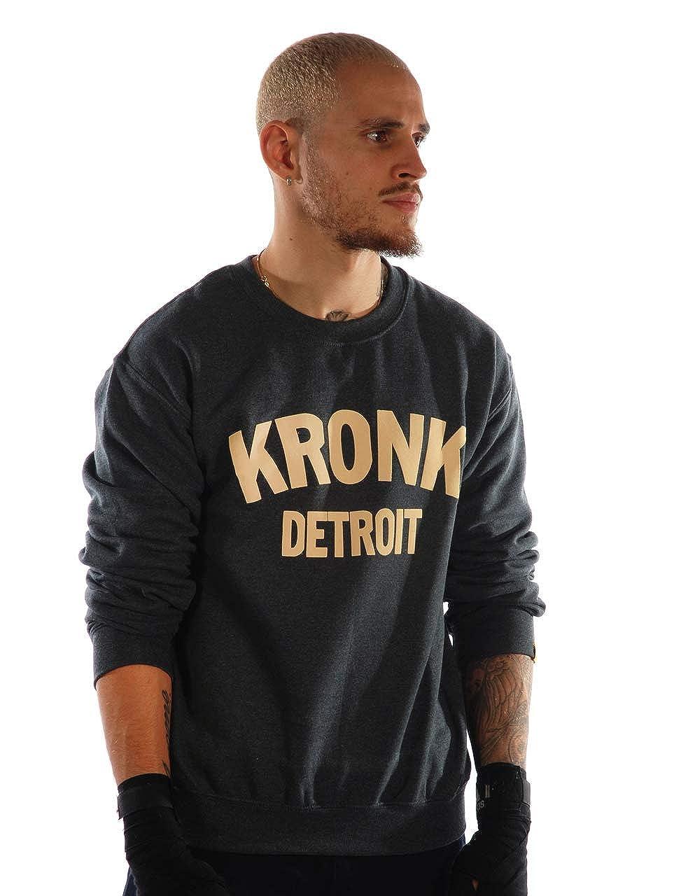 KRONK Boxe Detroit pour Homme Sweat Klitschko Abigail