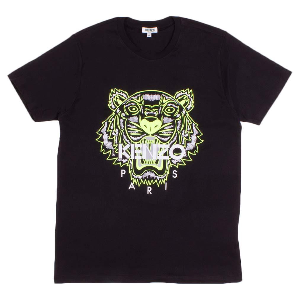 Kenzo Maglietta da Uomo con Stampa Tigre