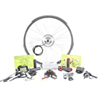 """EBIKELING 36V 500W Geared Motor Front Rear Wheel 26"""" 700C e-Bike Conversion Kit Electric Bicycle"""