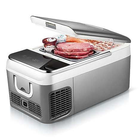 Refrigerador refrigerado refrigerador del compresor 18L 12v-24v mini refrigeradora doméstica pequeña nevera congelador (