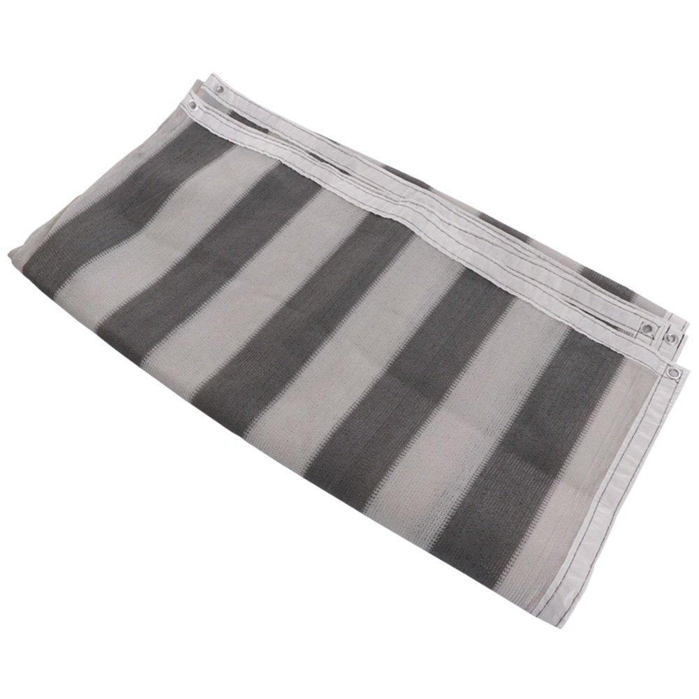 QIANGDA Rete Parasole Serre Antivento Giardinaggio Ombreggiatura Rete di Protezione Solare Oscurare Mesh Anti-UV Termico Facile Pieghevole Copertura