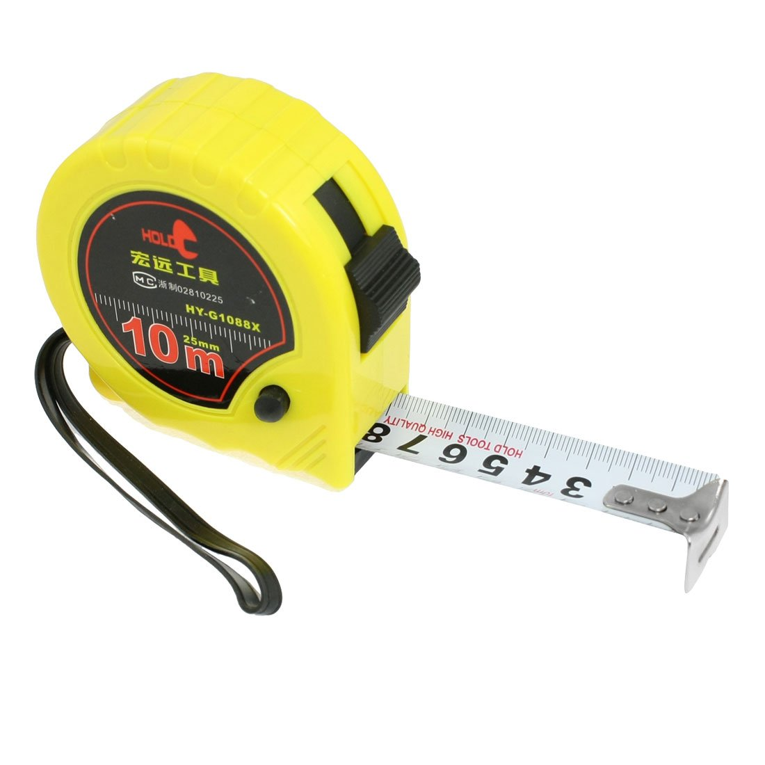 self retract flexible metric tape measure measuring tools 10m x 1