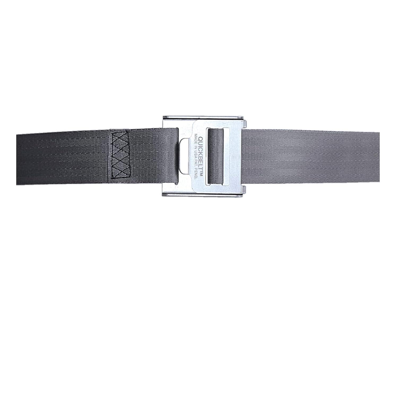 Holdrite QB-50-F QuickStrap Water Heater Strap, Soft Belt, Gray
