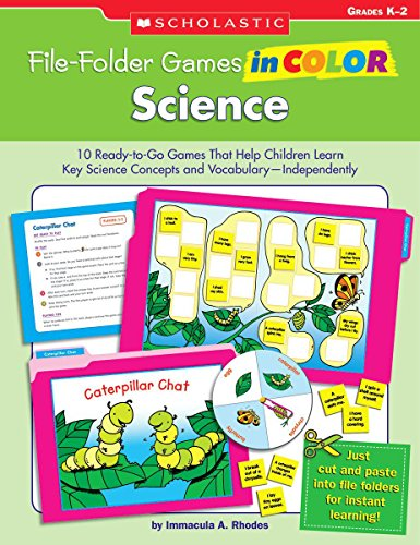 File-Folder Games in Color: Science: 10 Ready-to-Go Games That Help Children Learn Key Science Concepts and Vocabulary-Independently]()