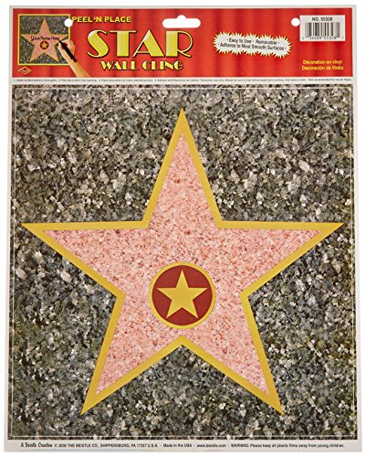 Personalized Hollywood Walk of Fame Stars Decor (12 Pack)