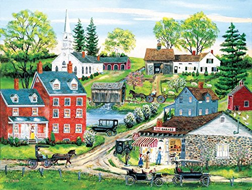 Tom's Garage 500 Piece Jigsaw Puzzle by SunsOut