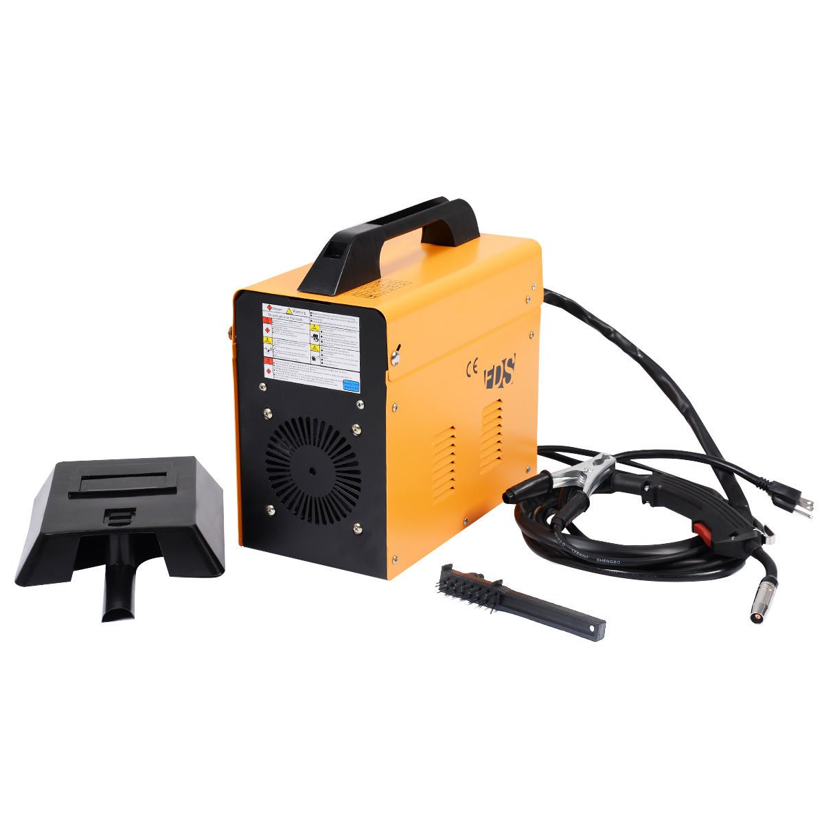 Goplus MIG 130 Welder Flux Core Wire Automatic Feed Welding Machine ...