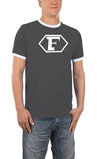 Touchlines Herren T-Shirt Evolution Fussball Kult Shirt