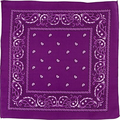 Amscan Bandana, Party Accessory, Purple by Amscan (Image #2)